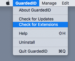 GuardedID - Browser Extension